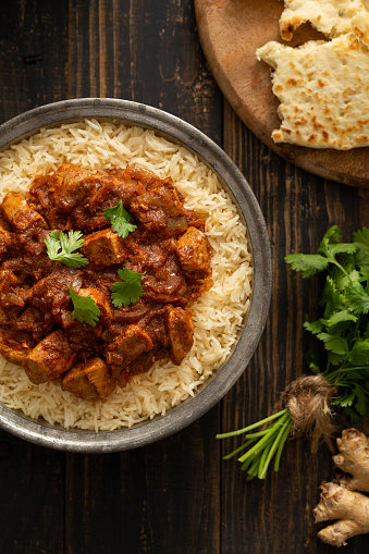 Basmati Rice「Indian Food Chicken Vindaloo Curry over Basmati Rice」:スマホ壁紙(8)