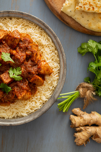 Basmati Rice「Indian Food Chicken Vindaloo Curry over Basmati Rice」:スマホ壁紙(14)