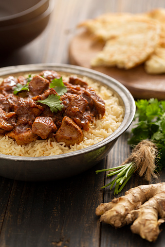 Basmati Rice「Indian Food Chicken Vindaloo Curry over Basmati Rice」:スマホ壁紙(15)