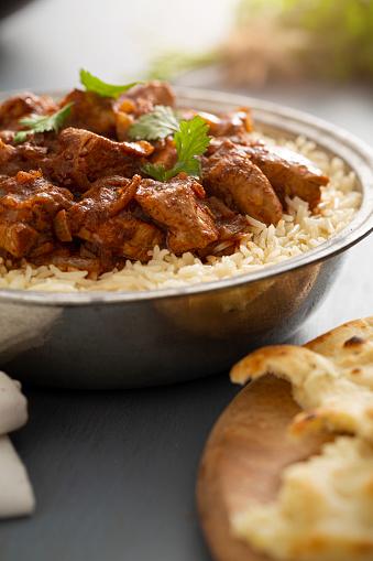 Basmati Rice「Indian Food Chicken Vindaloo Curry over Basmati Rice」:スマホ壁紙(15)