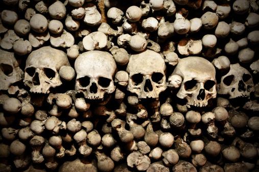 Evil「Skulls and bones」:スマホ壁紙(4)