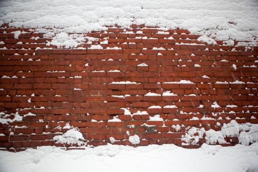 Snowdrift「snowy wall」:スマホ壁紙(4)