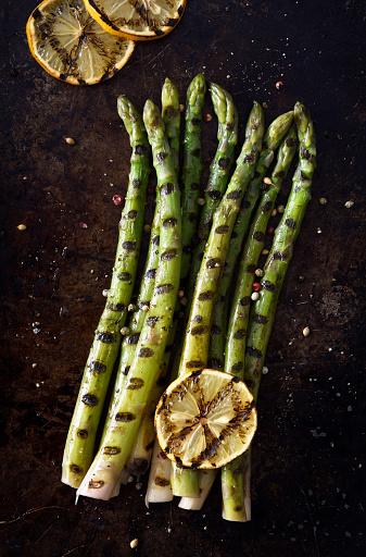 Char-Grilled「Grilled asparagus」:スマホ壁紙(8)