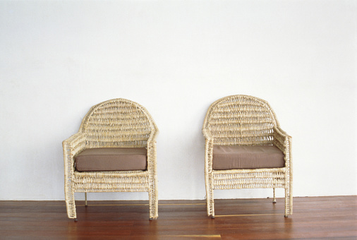 Unrecognizable Person「Two wicker armchairs」:スマホ壁紙(10)