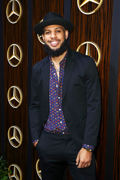 Dark Blue「Mercedes-Benz USA Awards Viewing Party At Four Seasons, Beverly Hills, CA」:写真・画像(3)[壁紙.com]