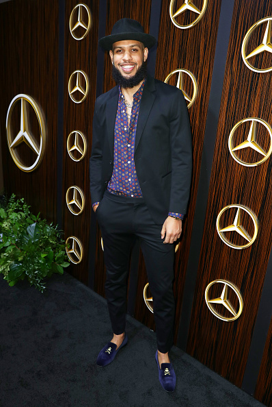 Dark Blue「Mercedes-Benz USA Awards Viewing Party At Four Seasons, Beverly Hills, CA」:写真・画像(4)[壁紙.com]
