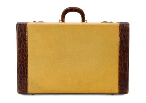旅行「黄色のスーツケースにパス」:スマホ壁紙(1)