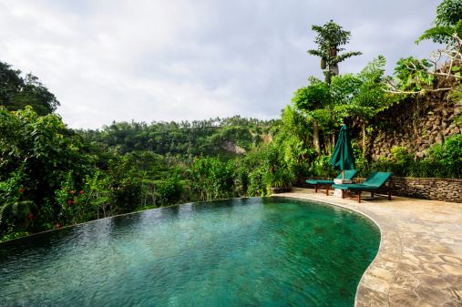Infinity Pool「Indonesian Pool Villa」:スマホ壁紙(8)