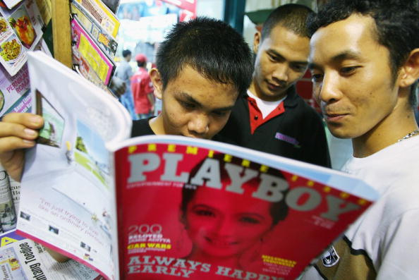 Playboy Magazine「Playboy Hits Newsstands in Indonesia」:写真・画像(12)[壁紙.com]