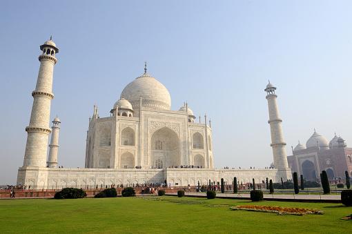Rajasthan「The Taj Mahal」:スマホ壁紙(1)