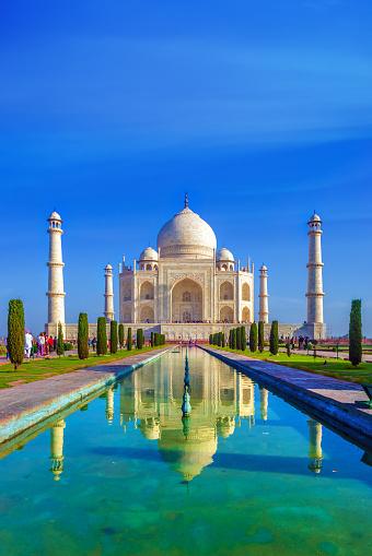 Taj Mahal「the Taj Mahal in the morning」:スマホ壁紙(8)