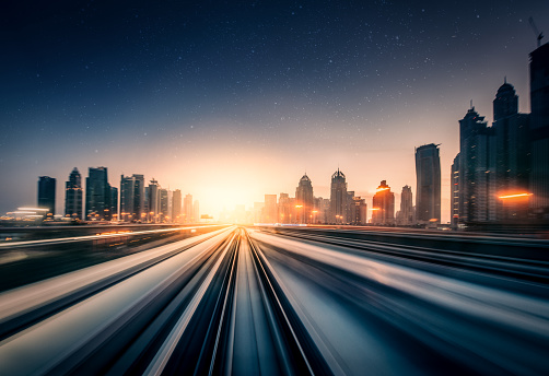 City Life「Dubai Speed motion」:スマホ壁紙(2)