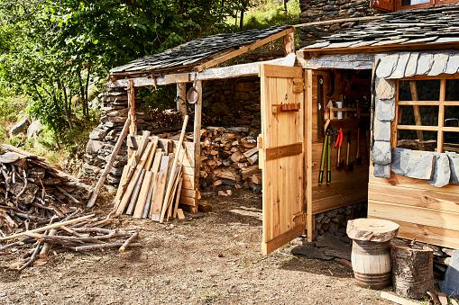 Workshop「Workshop of wood material in forest」:スマホ壁紙(2)