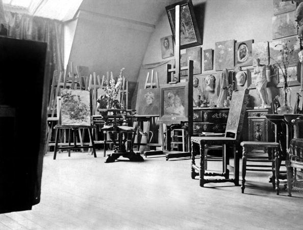 1890-1899「Workshop of painter Berthe Morisot (1841-1895) in Paris, 1892」:写真・画像(15)[壁紙.com]