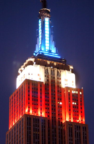 Empire State Building「Empire State Building Shines Red, White and Blue」:写真・画像(15)[壁紙.com]