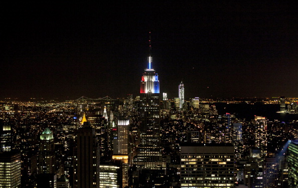 Empire State Building「U.S. Citizens Head To The Polls To Vote In Presidential Election」:写真・画像(7)[壁紙.com]