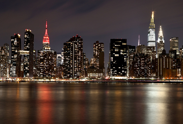 Empire State Building「U.S. Cities Show Support For Biden Inaugural Committee's COVID-19 Memorial: A National Moment Of Unity And Remembrance」:写真・画像(10)[壁紙.com]