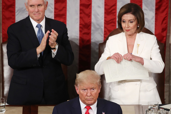 Speaker of the House「President Trump Gives State Of The Union Address」:写真・画像(5)[壁紙.com]