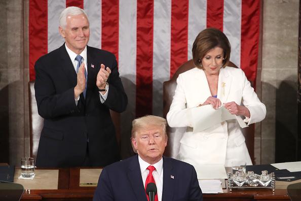 Speech「President Trump Gives State Of The Union Address」:写真・画像(18)[壁紙.com]