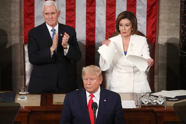 Speech「President Trump Gives State Of The Union Address」:写真・画像(2)[壁紙.com]