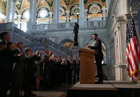Speaker of the House「Paul Ryan Delivers First Major Address As Speaker Of The House」:写真・画像(10)[壁紙.com]