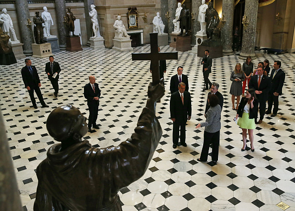 Junípero Serra「House Speaker Boehner And House, Senate Sergeant At Arms Preview Pope's Visit To Capitol Hill」:写真・画像(4)[壁紙.com]