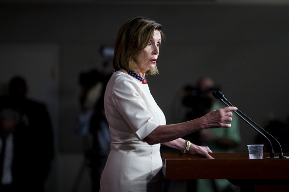 Press Room「Speaker Nancy Pelosi Holds Weekly Press Conference」:写真・画像(14)[壁紙.com]