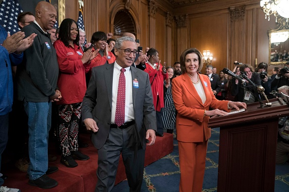Protection「Nancy Pelosi, House Democrats Discuss Protecting the Right To Organize (PRO) Act」:写真・画像(7)[壁紙.com]