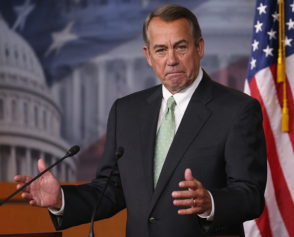 Speaker of the House「John Boehner Holds Weekly Press Briefing At Capitol」:写真・画像(14)[壁紙.com]