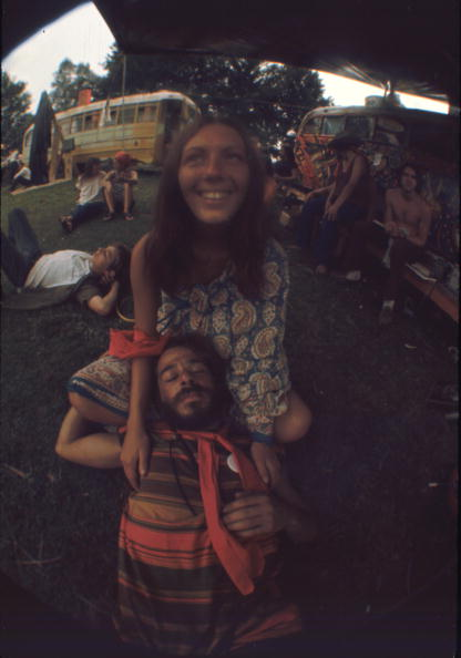 School Bus「Festival Goers At Woodstock」:写真・画像(14)[壁紙.com]