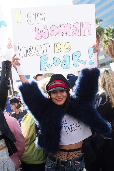 ヴァネッサ・ハジェンズ「Women's March Los Angeles」:写真・画像(13)[壁紙.com]