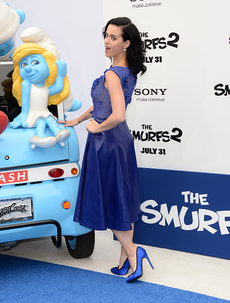 "Blue Shoe「Premiere Of Columbia Pictures' ""Smurfs 2"" - Arrivals」:写真・画像(4)[壁紙.com]"