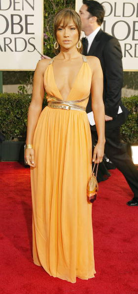 Orange Dress「61st Annual Golden Globe Awards - Arrivals」:写真・画像(9)[壁紙.com]