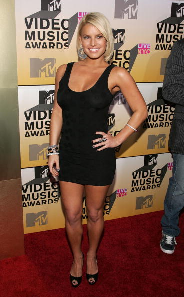 ジェシカ・シンプソン「2006 MTV Video Music Awards - Arrivals」:写真・画像(12)[壁紙.com]