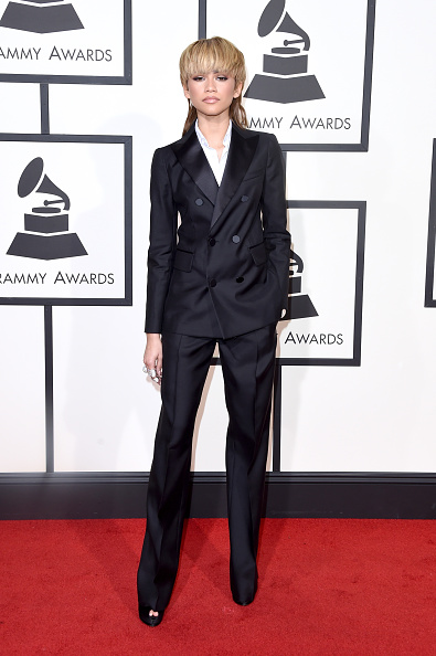 Zendaya Coleman「The 58th GRAMMY Awards - Arrivals」:写真・画像(11)[壁紙.com]