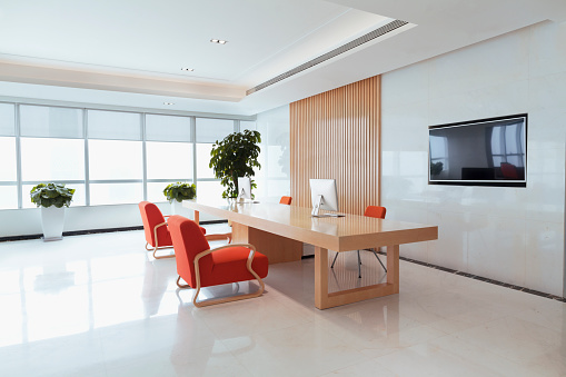 Receptionist「View of office reception area」:スマホ壁紙(6)