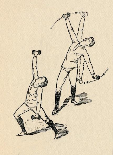 趣味・暮らし「'Dumb-Bell Exercises', 1912」:写真・画像(15)[壁紙.com]