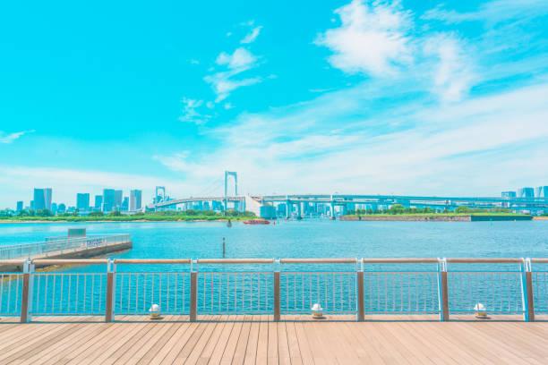 Promenade Odaiba, Tokyo:スマホ壁紙(壁紙.com)