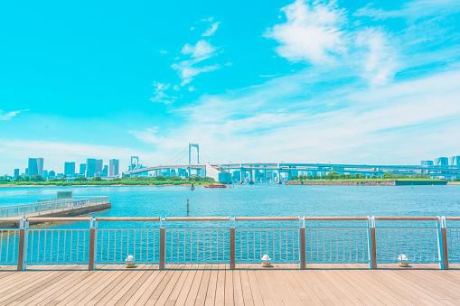 Sea「Promenade Odaiba, Tokyo」:スマホ壁紙(1)