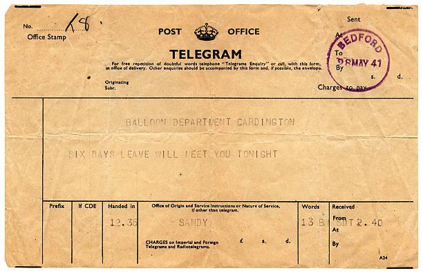 Good news telegram to Cardington, 1941:スマホ壁紙(壁紙.com)