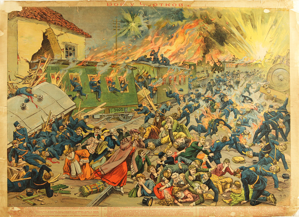Chromolithograph「The Battle At Czortkow」:写真・画像(12)[壁紙.com]