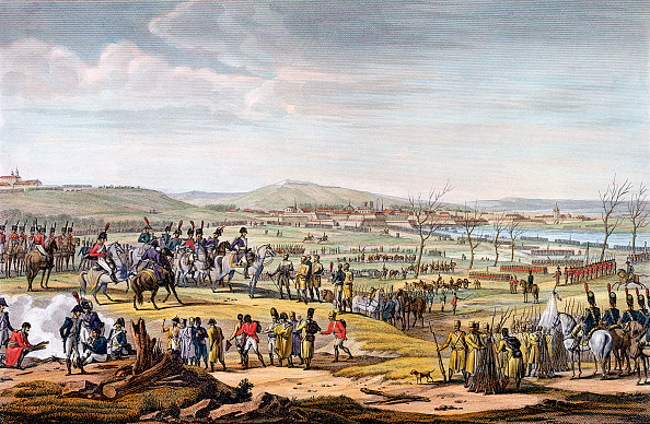 Surrendering「The Battle Of Ulm Germany 17th October 1805」:写真・画像(3)[壁紙.com]