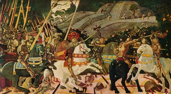 Battle「The Battle of San Romano, c1438, (1909)」:写真・画像(12)[壁紙.com]