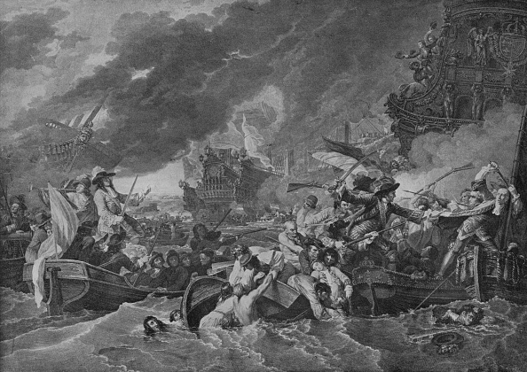 17th Century「The Battle of La Hogue」:写真・画像(15)[壁紙.com]