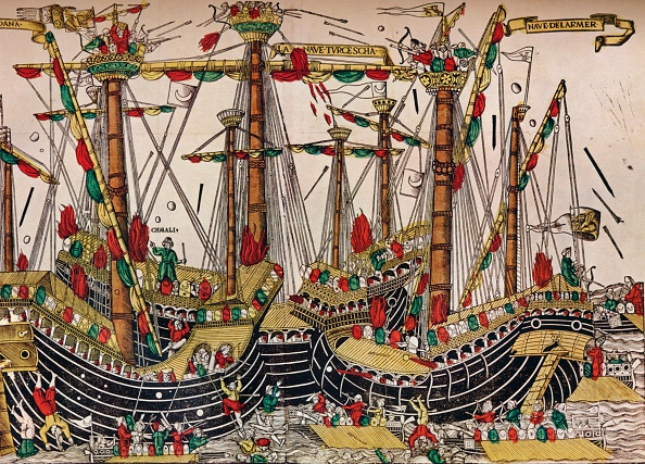 Circa 15th Century「'The Battle of Zonchio (Navarino)', c1499. Artist: Unknown.」:写真・画像(16)[壁紙.com]