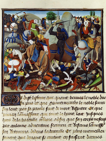 Painted Image「The Battle Against The Infidels. The Fall Of Constantinople」:写真・画像(4)[壁紙.com]