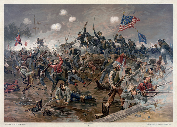Chromolithograph「The Battle Of Spotsylvania Court House」:写真・画像(14)[壁紙.com]