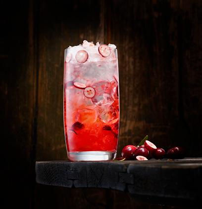Cocktail「Cranberry wodka」:スマホ壁紙(14)