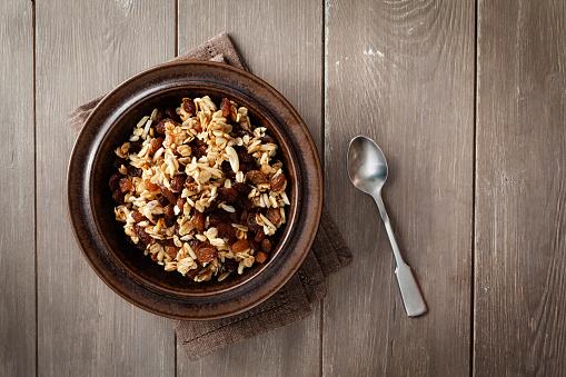 Granola「Plate of homemade granola」:スマホ壁紙(10)