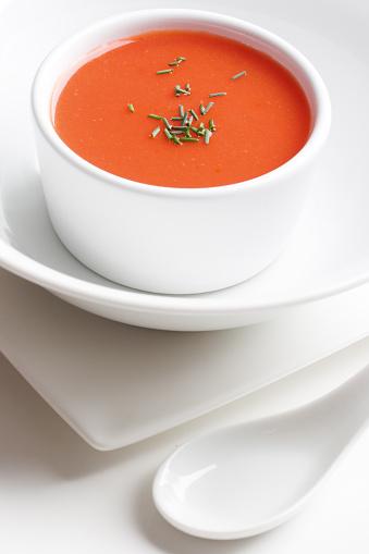Plate「Tomato soup」:スマホ壁紙(2)